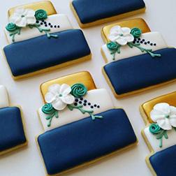 Glitzy Cake Cookies