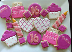 Princess Party Birthday Cookies