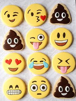 Fun Emoji Cookies