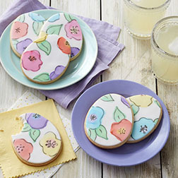 Painted Egg Cookies