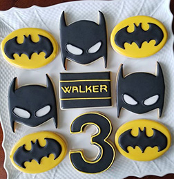 Batman Fan Cookies