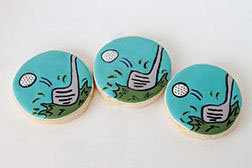 Great Swing Father's Day Cookies