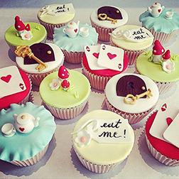 Wonderland Dozen Cupcakes