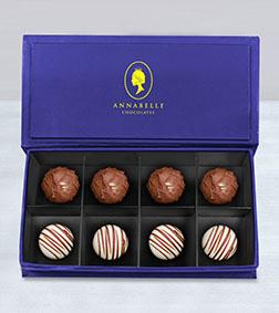 Artisan Truffles Box by Annabelle Chocolates