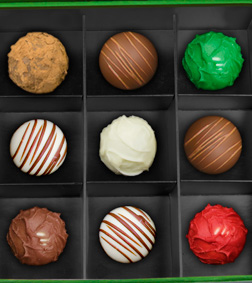 Assorted Fantasies Truffles Box by Annabelle Chocolates