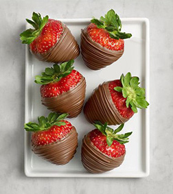 Satin Smooth Dipped Strawberries