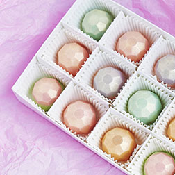 Glitzy Gemstone Chocolates by Annabelle Chocolates