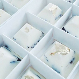 Clear Sky Chocolate Gems by Annabelle Chocolates