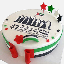 Founding Father's Commerative National Day Cake
