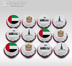 Union Dozen (12) Cupcakes
