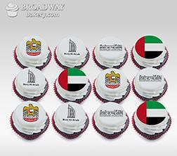 Proud Patriot Dozen (12) Cupcakes