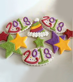 Year End Bash Cookie Box