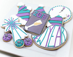 New Year's Assorted Cookies