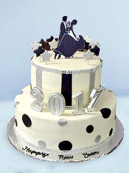 Ballroom Dance Cake