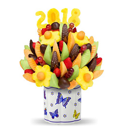 Magical New Year's Fruit Bouquet