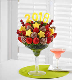Toast to the New Year Fruit Bouquet