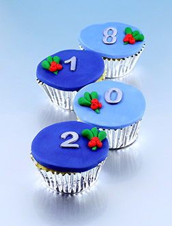 To Another Year Half Dozen (6) Cupcakes
