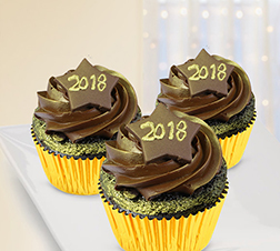 New Year Indulgence Half Dozen (6) Cupcakes