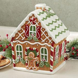 Season's Joy Gingerbread House