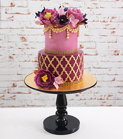 Spectacular Floral Eid Cake