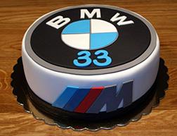 BMW M Series Cake