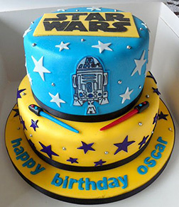In A Galaxy Far Away Cake
