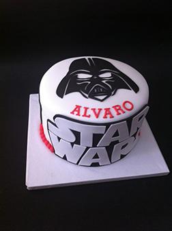 Vader: The Darkside Birthday Cake
