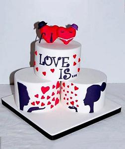 Love Is Eternal Cake