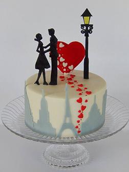 Wanderlust Love Cake