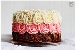 Rose Stack Cake
