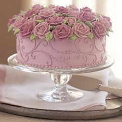 Lavender Bloom  Cake