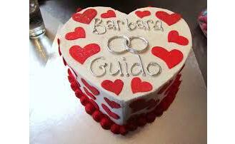 Everlasting Romance Valentine Cake
