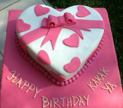 Candy Box Valentine Cake