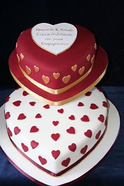 Scarlet Heart Valentine Cake