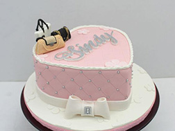 Elegant Accessories Heart Cake