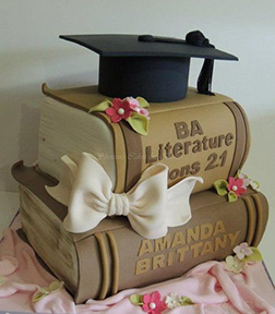 Completed Degree Graduation Cake