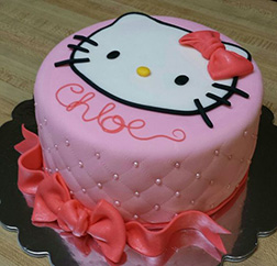 Pretty in Pink Hello Kitty Cake