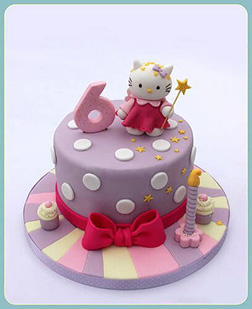 Fairy World Hello Kitty Cake