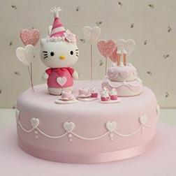 Birthday Celebration  Hello Kitty Cake