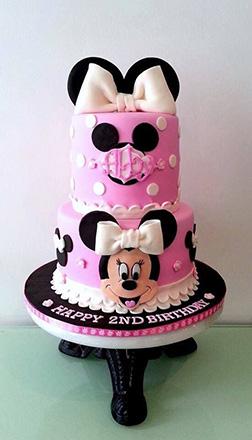 Minnie's Bowtique Stack Cake
