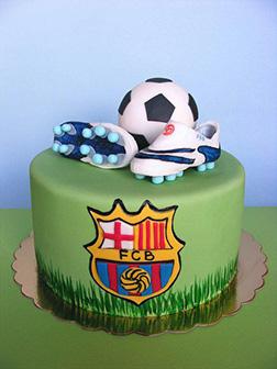 FC Barcelona Birthday Cake