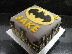 Batman Skylight Cake