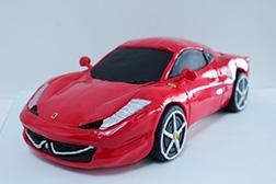 3D Ferrari 458 Italia cake
