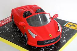3D Ferrari Speedster Cake 2