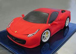 3D Ferrari Speedster Cake