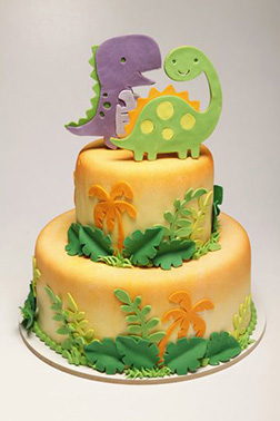 Baby Dino Jungle Fun Cake