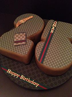 So Gucci Cake