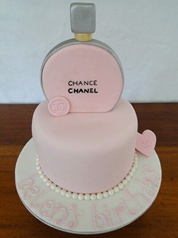 Chanel Pink Cake