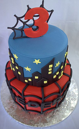 Amazing Spiderman Cake