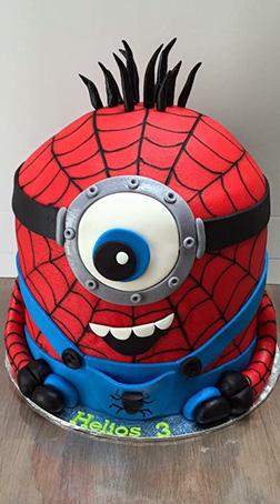 Spiderminion cake 2